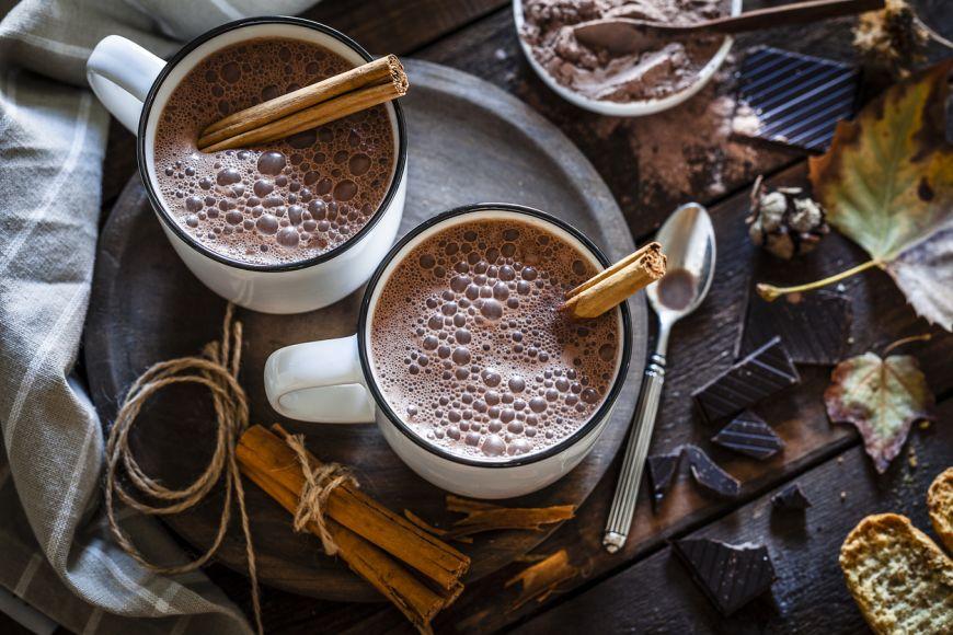 Reteta: Ciocolata calda cu vin rosu