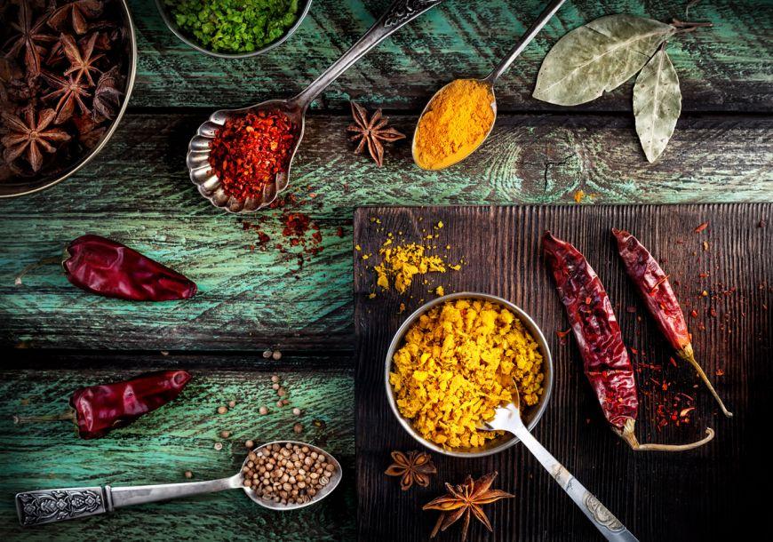 Ce condimente indiene nu trebuie sa iti lipseasca din bucatarie