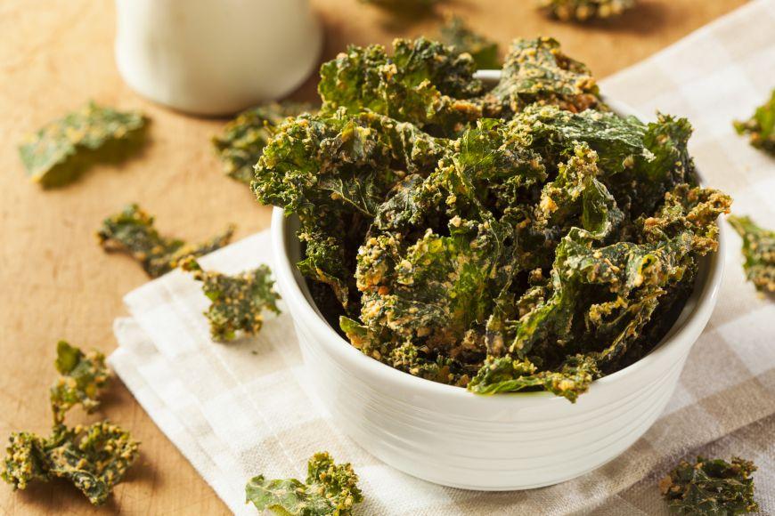 Gustari sanatoase. Chipsuri din Kale
