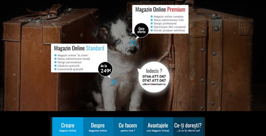 (P) Cele mai bune soluții pentru creare magazin online de la It Exclusiv!