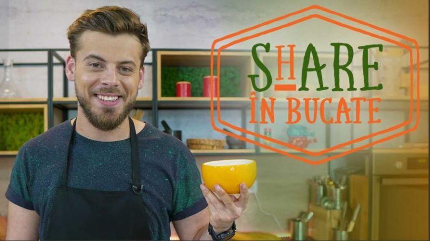 ShARE în Bucate te învață să faci simplu și rapid cea mai gustoasă supă cremă de ciuperci