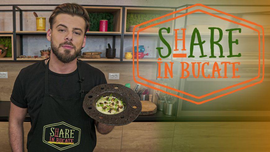 ShARE ÎN BUCATE - Risotto cu parmezan și ciuperci