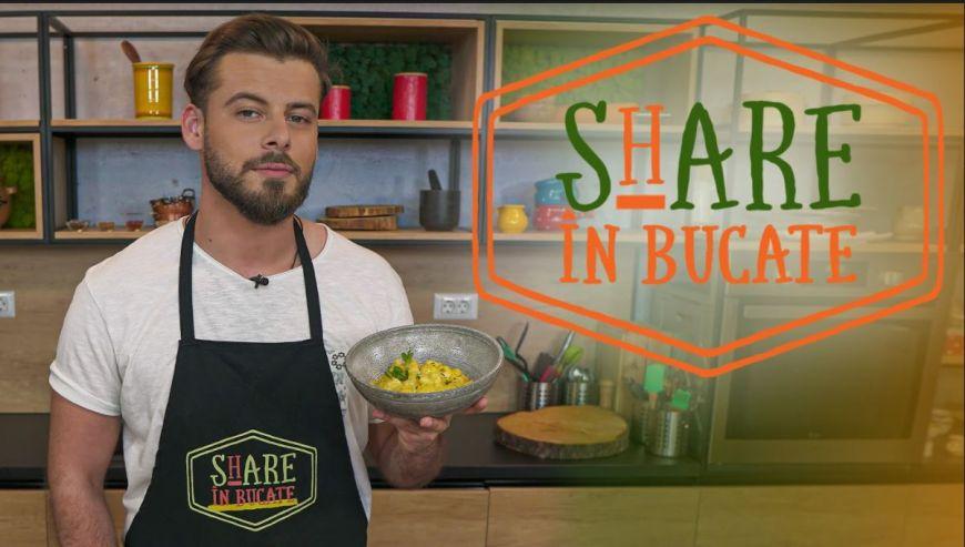 La Share în Bucate, Emanuel Cîrstea te învață să pregătești tocăniță de cartofi cu pui și muștar