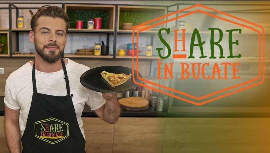 Share în bucate îți arată cum să pregătești cel mai gustos quiche cu somon și broccoli