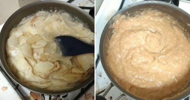Un chef și-a oripilat fanii de pe TikTok preparând un piure. Ce ingrediente a putut să folosească