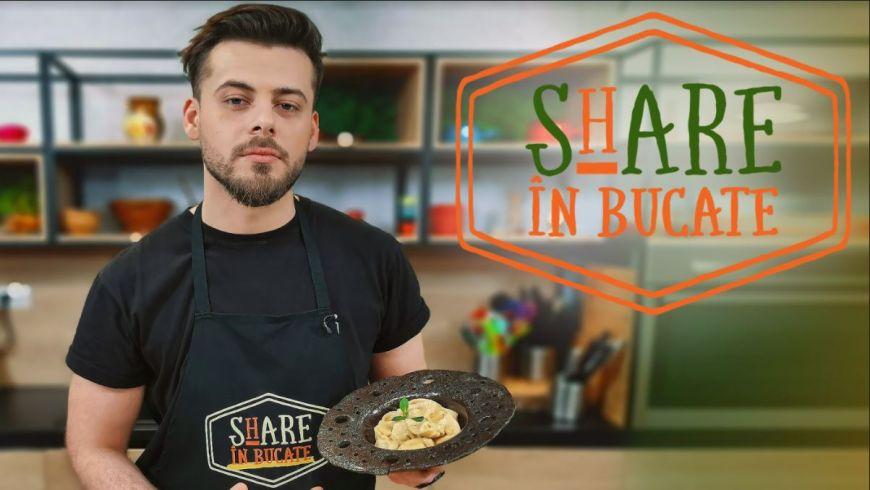 La SHARE ÎN BUCATE, Emanuel Cîrstea te învață să pregătești tortellini în 15 minute