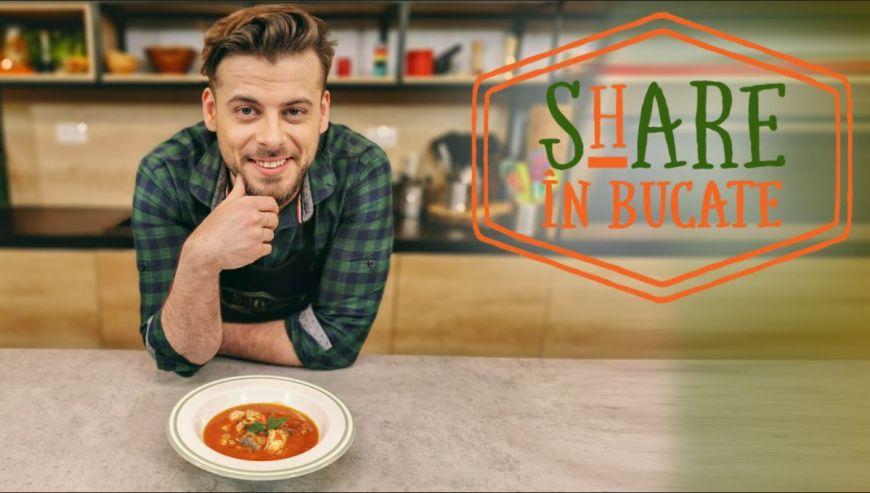 Share în bucate te învață să faci supă rapidă de pește