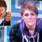 Miley Cyrus il imita pe Justin Bieber! VIDEO