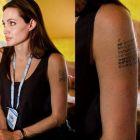 Angelina Jolie recunoaste ca noul ei tatuaj este pentru Brad Pitt!