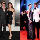 Rafinament, stil, eleganta! Cele mai HOT aparitii Angelina Jolie - Brad Pitt  pe covorul rosu! GALERIE FOTO!
