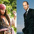 Blitz: Jason Statham ar putea juca in Transformers 4 iar Johnny Depp revine in Piratii din Caraibe 5