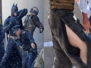 Christian Bale si Tom Hardy , scene de batai spectaculoase pentru The Dark Knight Rises