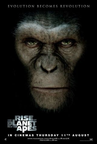 Rise of the Planet of the Apes: desteptarea maimutelor