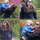 Angelina Jolie a oferit imagini de vis in Scotia: a inchiriat un tren cu Brad Pitt