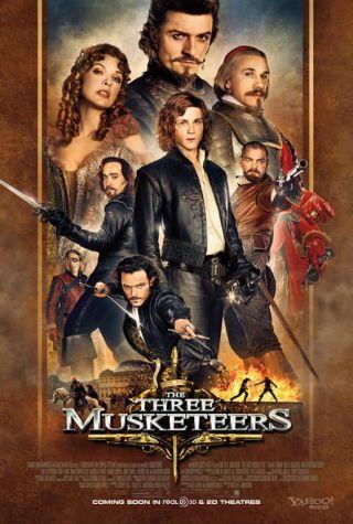 The Three Musketeers: 3D-ul, tatal si piratii