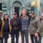 Dolph Lundgren si Chuck Norris in prima lor imagine din The Expendables 2. Care e cel mai nebun actor de actiune?
