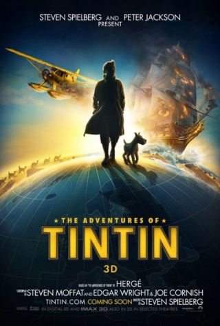 The Adventures of Tintin: un rollercoaster fermecator