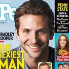 Bradley Cooper, numit de revista People cel mai sexy barbat din lume in 2011. Vezi ce alti actori sunt in top