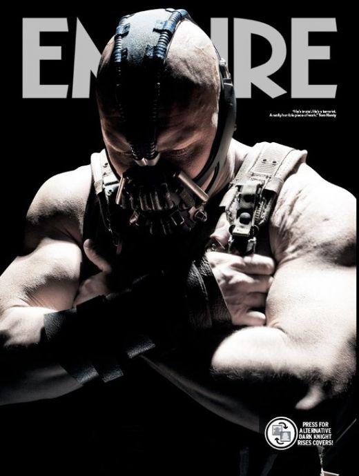 Desi personajul Bane a mai fost mentionat si in alte filme cu Batman, ca Batman si Robin, Christopher Nolan il prezinta intr-un mod cu totul diferit. Daca in Batman si Robin nu era decat un pachet de muschi de care se folosea Poison Ivy si Mr Freeze, acum Bane este un criminal cu sange rece si nemilos care poate sa-l distruga pe Batman.