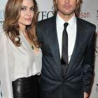 Angelina Jolie sclipitoare si Brad Pitt cu baston: au dominat Gala Premiilor de la New York. Ce sanse are actorul la Oscar