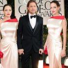 Angelina Jolie si Brad Pitt, cel mai puternic si glamour cuplu din noaptea Globurilor de Aur