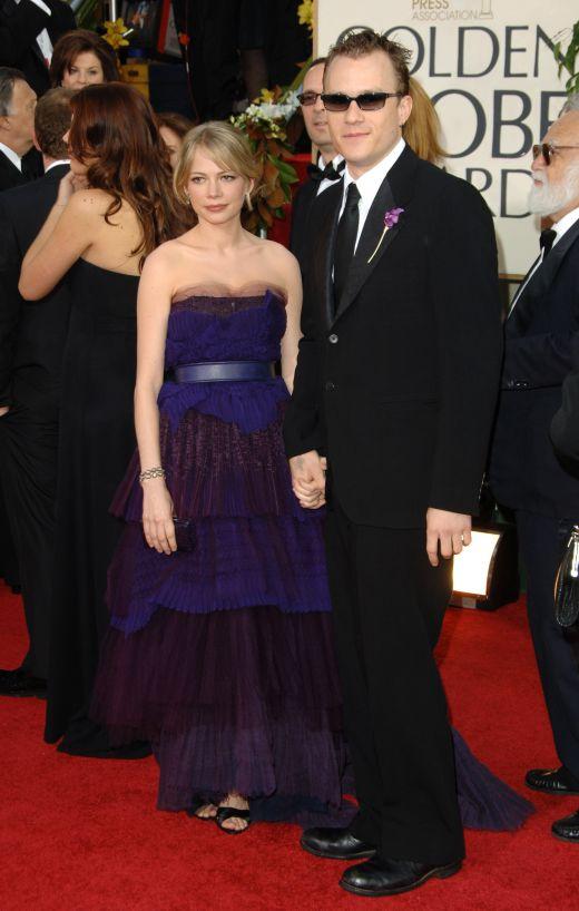 Heath Ledger si Michelle Williams in 2005