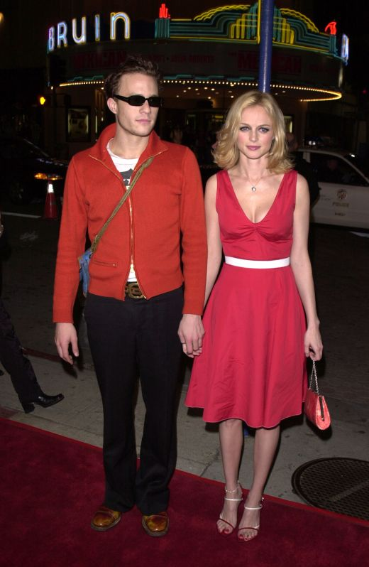 Heath Ledger si Naomi Watts in 2001