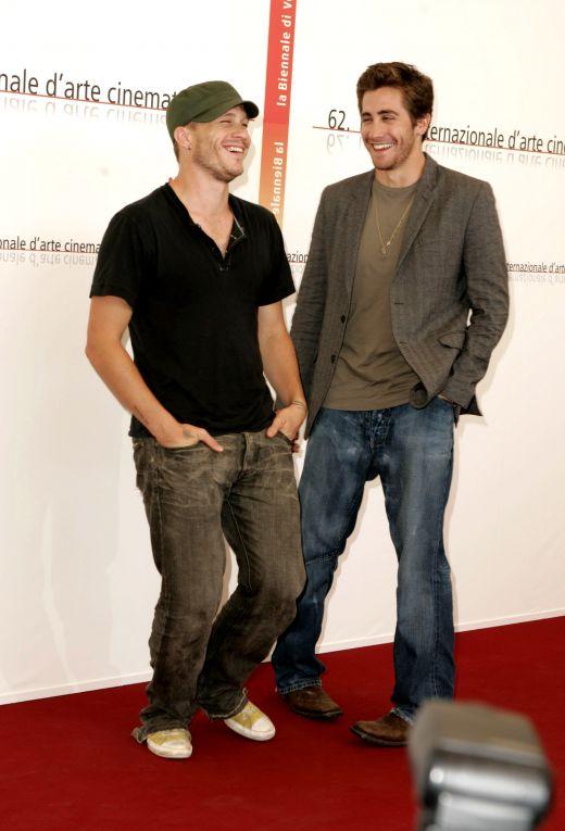 Heath Ledger si Jake Gyllenhaal in 2005