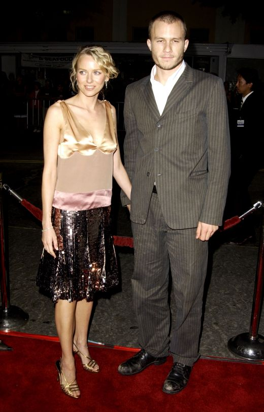 Heath Ledger si Naomi Watts in 2003