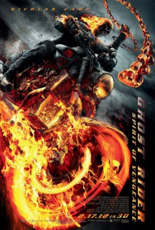 Ghost Rider: Spirit of Vengeance isi da singur foc la valiza