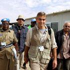 George Clooney, martorul unui atac cu rachete in Sudan. Imaginile terifiante pe care actorul le-a filmat