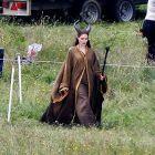 Angelina Jolie, pe platourile de la Maleficent: actrita are coarne si ochi galbeni in noul sau film de 170 de milioane de $