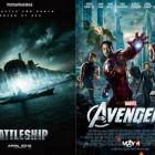 Battleship a  fost distrus de The Avengers. Un film cu un buget imens, strivit de succesul colosal al filmului fenomen din 2012