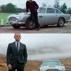 Colectia de masini a lui James Bond: Daniel Craig se intoarce in anii de glorie ai agentului 007. Ce modele istorice conduce in Skyfall