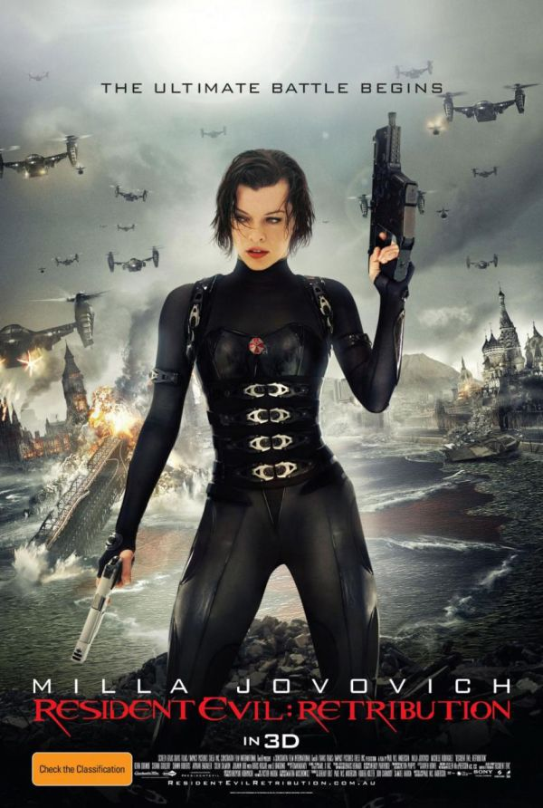 Premiere la cinema: Milla Jovovich da batalia finala in Resident Evil: Retribution