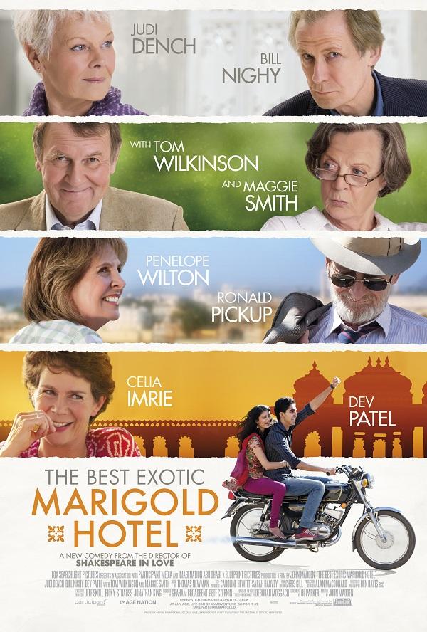 The Best Exotic Marigold Hotel: cei 7 hodorogi magnifici
