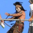 Johnny Depp, dezlantuit complet la filmarile pentru The Lone Ranger: cum va uimi actorul intr-unul dintre cele mai asteptate filme din 2013