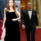 Cele mai memorabile 20 de imagini din lumea filmului in 2012: George Clooney arestat, faimosul picior al Angelinei Jolie si Daniel Craig, bodyguard-ul Reginei Elisabeta
