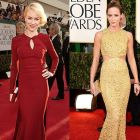 Globurile de Aur 2013: cele mai bine imbracate actrite si cele mai frumoase momente de pe covorul rosu