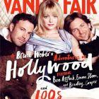 Emma Stone, in pat cu Ben Affleck si Bradley Cooper pe coperta Vanity Fair. Cum au pozat cei mai populari actori ai momentului pentru celebra revista