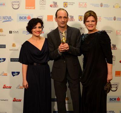 Castigatorii Premiilor Gopo 2013: cele mai frumoase imagini si cele mai tari momente de la gala