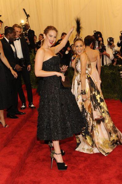 Jennifer Lawrence si Sarah Jessica Parker