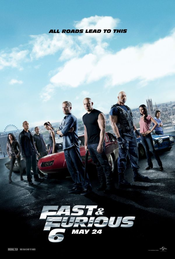 Fast and Furious 6: adrenalina si cascadorii in viteza a 6-a