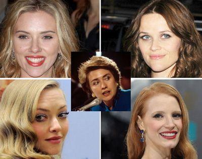 Patru actrite de top se lupta pentru a o juca pe Hillary Clinton: Scarlett Johansson este favorita in rolul uneia dintre cele mai puternice femei din lume