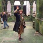 Martin Freeman si-a luat adio de la Bilbo Baggins: filmarile pentru trilogia The Hobbit s-au incheiat