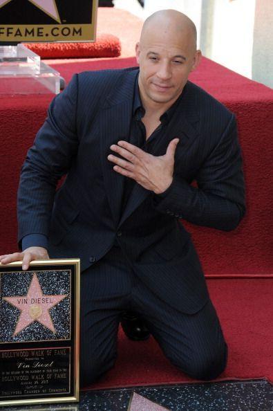 Vin Diesel a primit o stea pe Hollywood Walk of Fame:  E unul dintre cei mai subestimati actori