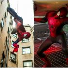 Imagini spectaculoase din The Amazing Spider-Man 2: Andrew Garfield, Jamie Foxx si Emma Stone aduc unul dintre cele mai tari filme cu super eroi