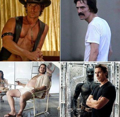 50 de transformari dramatice: actori celebri pe care nu ii mai recunosti in cele mai grele roluri din cariera lor