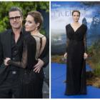 Angelina Jolie si Brad Pitt, cuplul perfect al Hollywood-ului: cei doi au stralucit la premiera filmului Maleficent din Londra