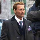 Prima imagine cu Johnny Depp in Mortdecai: actorul este greu de recunoscut in noul sau film